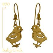 Baby Chick Earrings