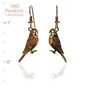 Parakeet Earrings
