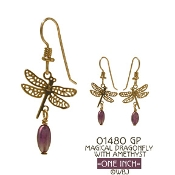 Magical Dragonfly Earrings