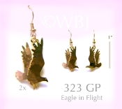 Eagle in Flight Earrings
