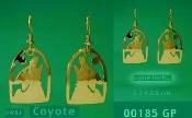 Coyote Earrings