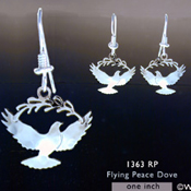 Peace Dove Earrings