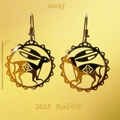 Wild Rabbit Earrings