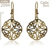 Celtic Sun Earrings