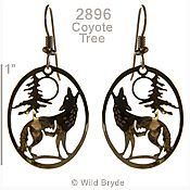 Coyote Howl Earrings