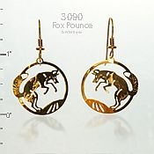 Fox Pounce Earrings