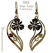 Star Tulip Earrings