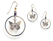 Monarch Butterfly Hoop