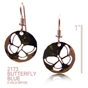 Butterfly Blue Earrings