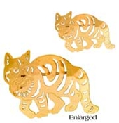 Tabby Cat Pin