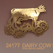 Dairy Cow Pin