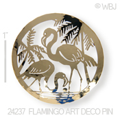 Flamingos Pin