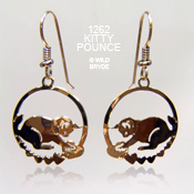 Kitty Pounce Earrings