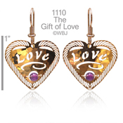 Gift of Love with Amethyst
