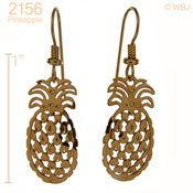Hawaiian Pineapple Earrings