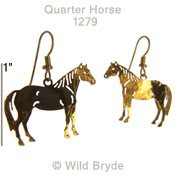 Quarter Horse Earrings