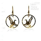 Flying Mallard Earrings