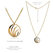 NAMI Logo Pendant with Chain