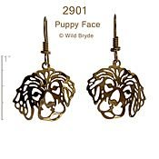 Puppy Face Earrings