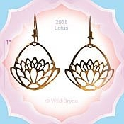 Zen Lotus Earrings
