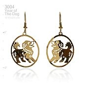 Lunar Year of the Dog Earrings