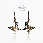 Swallowtail Butterfly Earrings