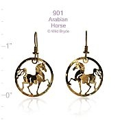 Arabian Circle Earrings